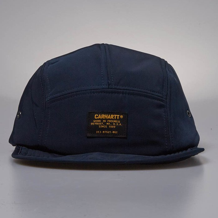 9ca5744eda770 ... Czapka Carhartt WIP Military Logo Cap 5Panel navy ...