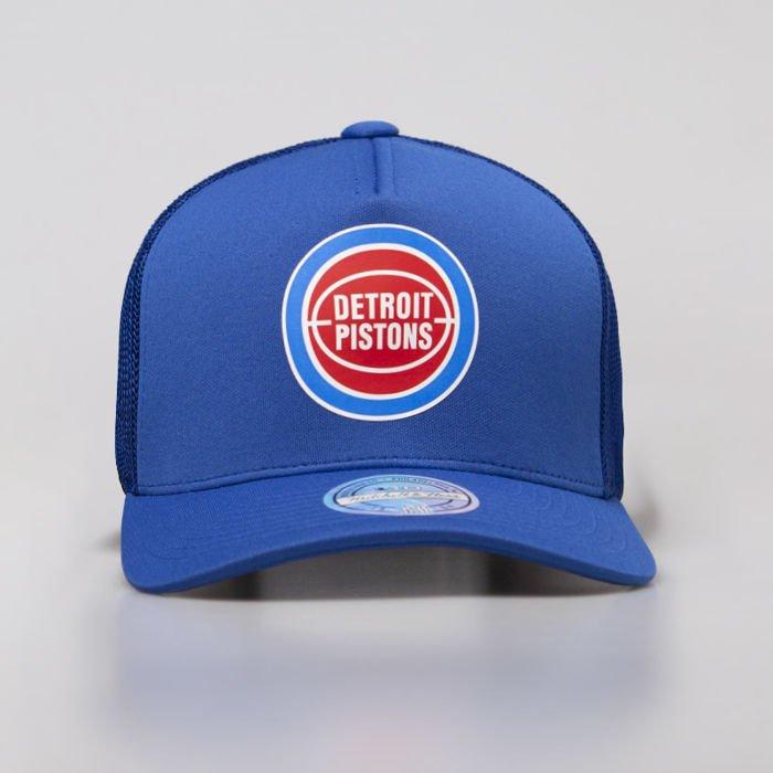 0b9a3df9a9a079 ... Czapka Mitchell & Ness snapback Detroit Pistons royal Vintage Jersey  Snapback ...