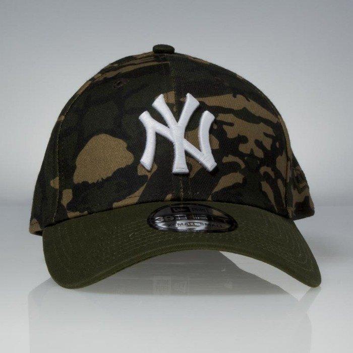 wyprzedaż hurtowa odebrać najbardziej popularny Czapka New Era cap New York Yankees Camo Team Stretch camo / white