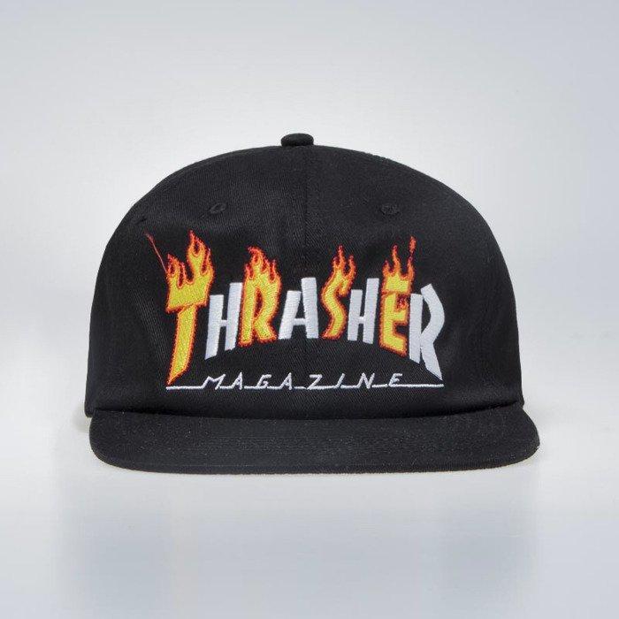60097cc233c ... Czapka Thrasher Flame Mag Snapback Cap black ...