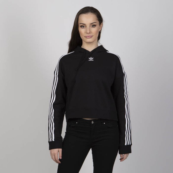 Damska bluza Adidas Originals Cropped Hoodie black