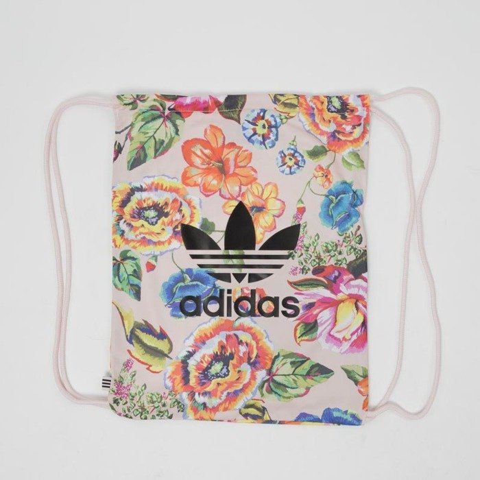 5b4cfc805c2e1 ... Damski worek na plecy Adidas Originals Floral Gym Sack multicolor  BR4171 ...