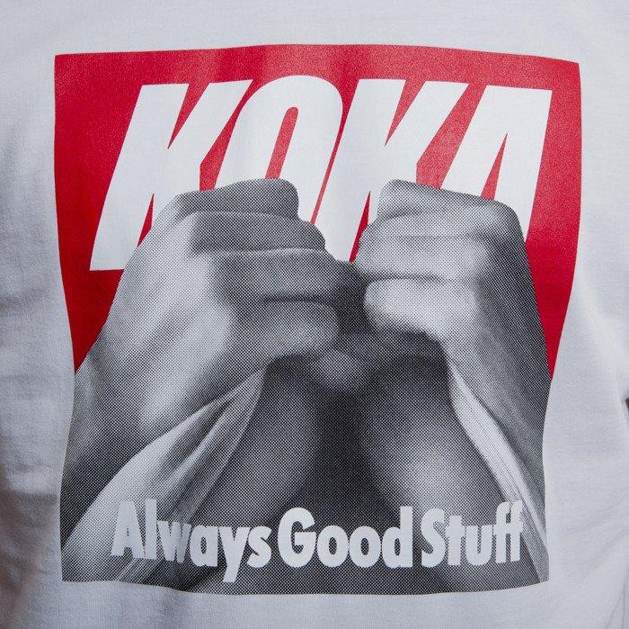 KOKA koszulka t shirt Boobs white ▷ Kup online na  ZFRFs