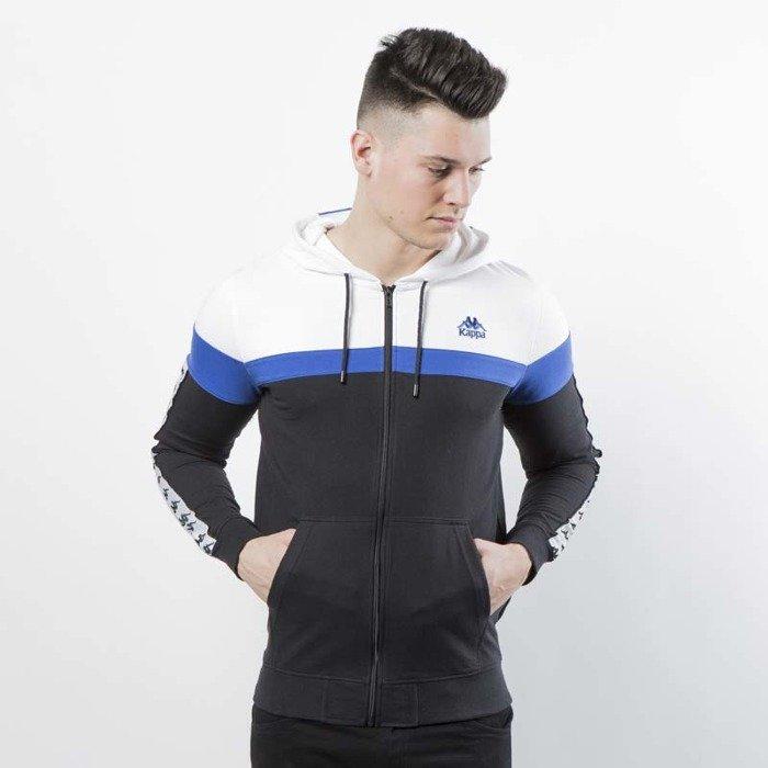 zniżki z fabryki dobra jakość Darmowa dostawa Kappa bluza Authentic Anabe black / white / blue 303WFG0-908