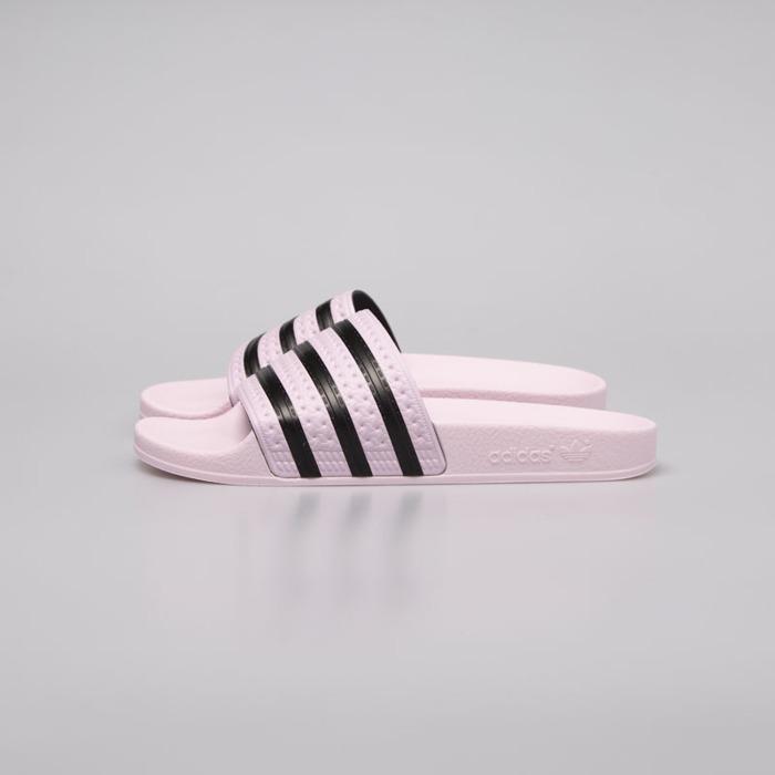 Klapki damskie Adidas Originals Adilette clear pink core black (CG6148)