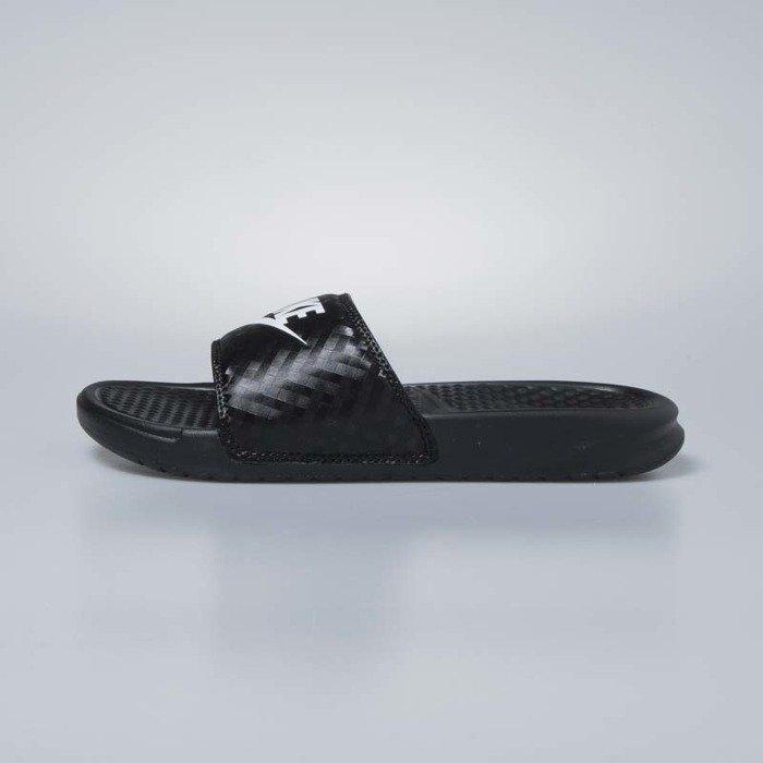 506304e0518b1 Klapki damskie Nike Benassi JDI black / white 343881-011 | Bludshop.com