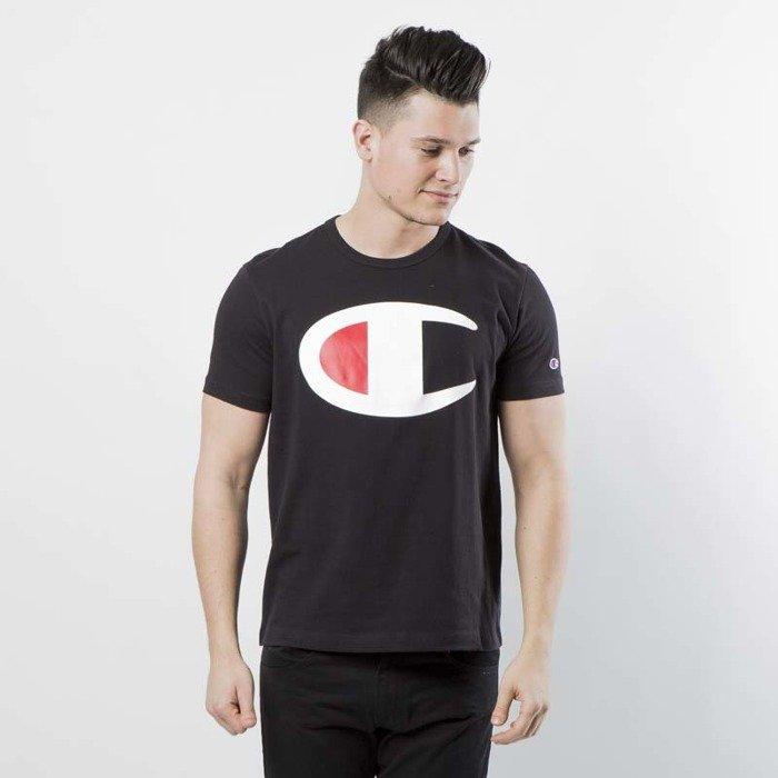 9b05741cca41b8 Koszulka Champion t-shirt Big Logo black 211984/S18/KK001 | Bludshop.com