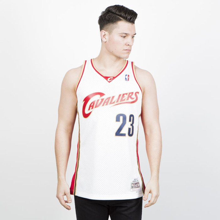 the best attitude 9b569 e72f7 Koszulka Mitchell & Ness Cleveland Cavaliers #23 LeBron James white/red  Swingman Jersey
