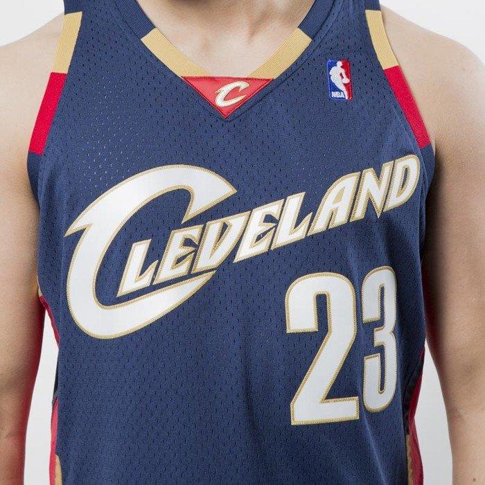 new styles 46770 d955a Koszulka Mitchell & Ness Cleveland Cavaliers #23 Lebron James navy Swingman  Jersey