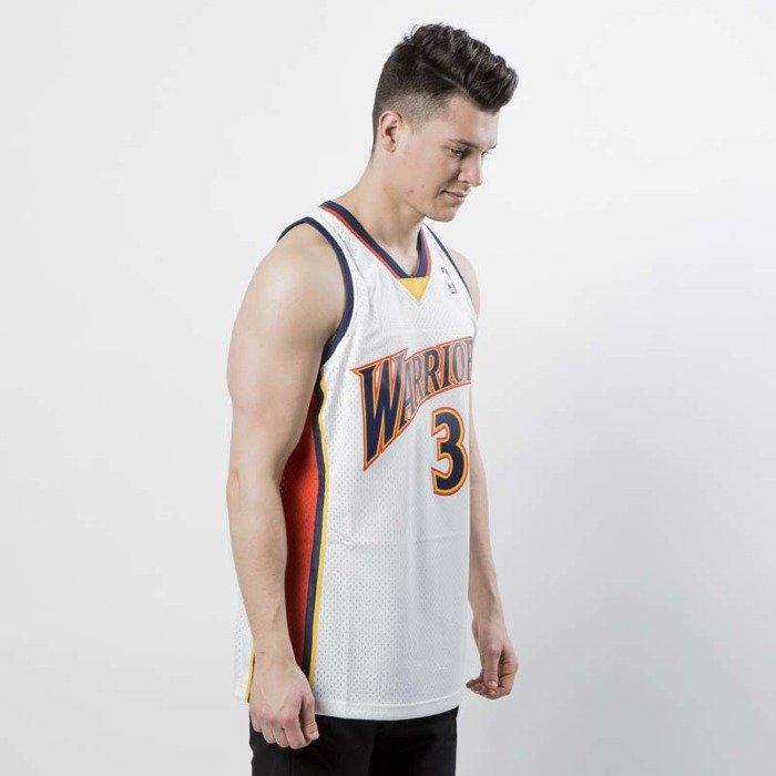 official photos 7bb4a 7f184 Koszulka Mitchell & Ness Golden State Warriors #30 Stephen Curry white /  orange Swingman Jersey