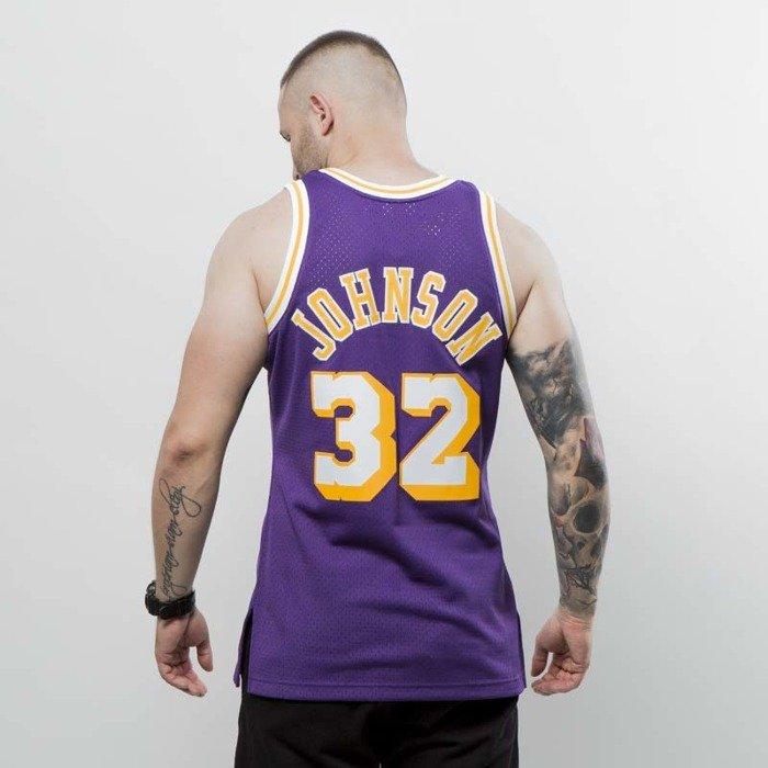 b8e50a976b9 ... Koszulka Mitchell & Ness Los Angeles Lakers - Magic Johnson purple Swingman  Jersey. Free