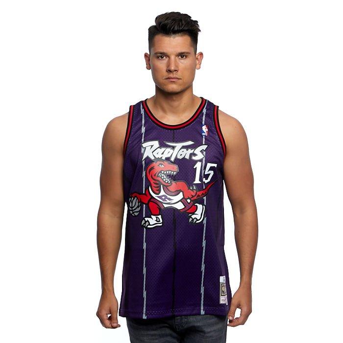 Koszulka Mitchell & Ness Toronto Raptors #15 Vince Carter purple Swingman Jersey