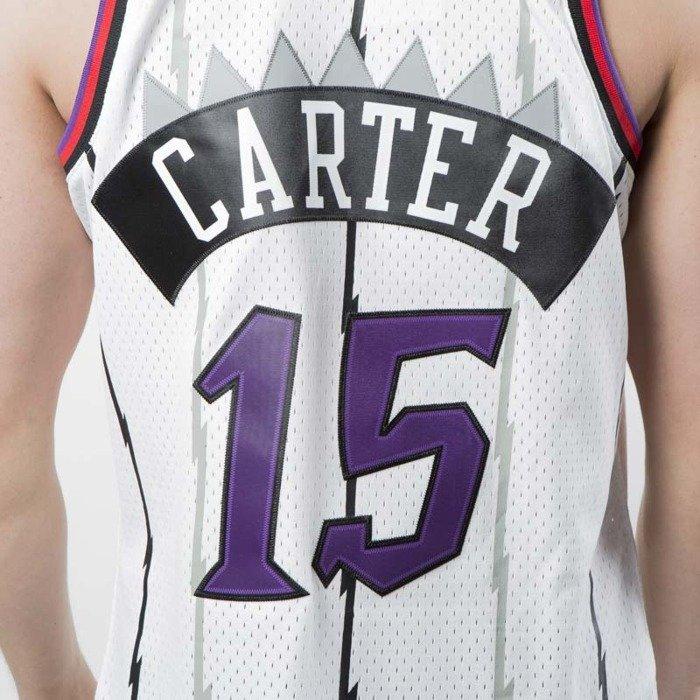 Koszulka Mitchell   Ness Toronto Raptors  15 Vince Carter white Swingman  Jersey ... 1de84d91a