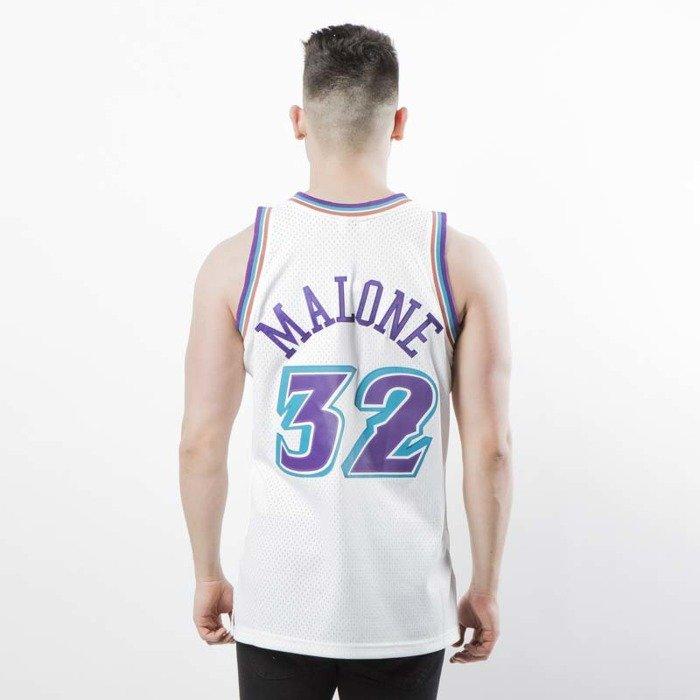more photos d425c 841eb Koszulka Mitchell & Ness Utah Jazz #32 Karl Malone white Swingman Jersey