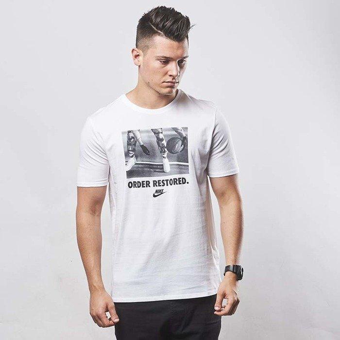 101a73a26 Koszulka Nike NSW Order Restored T-shirt white 873173-100 | Bludshop.com