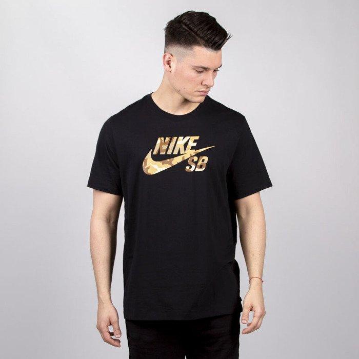 gdzie kupić renomowana strona sprzedaż hurtowa Koszulka Nike SB Tee Logo SNSL 2 black