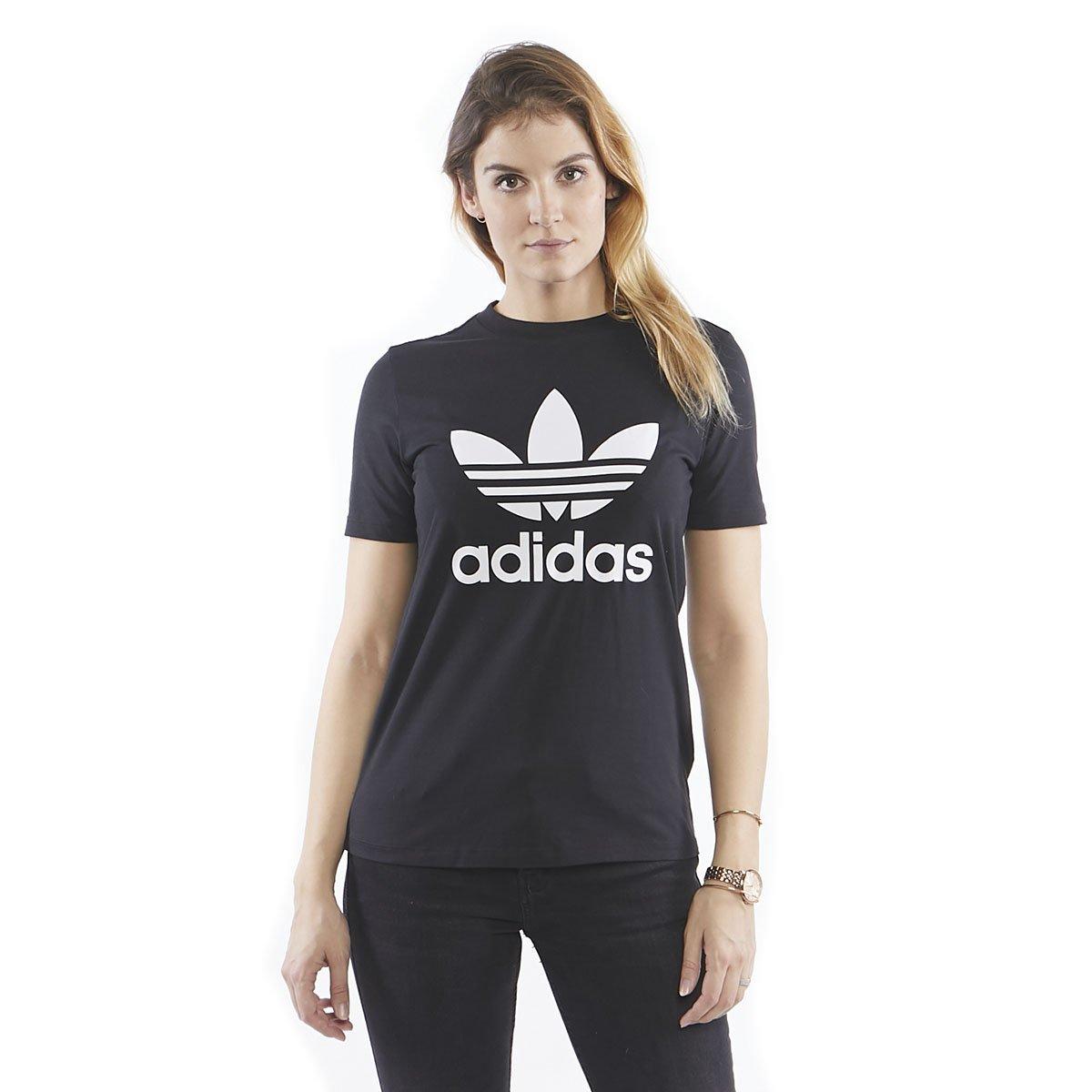 Koszulka damska Adidas Originals Trefoil Tee blackwhite