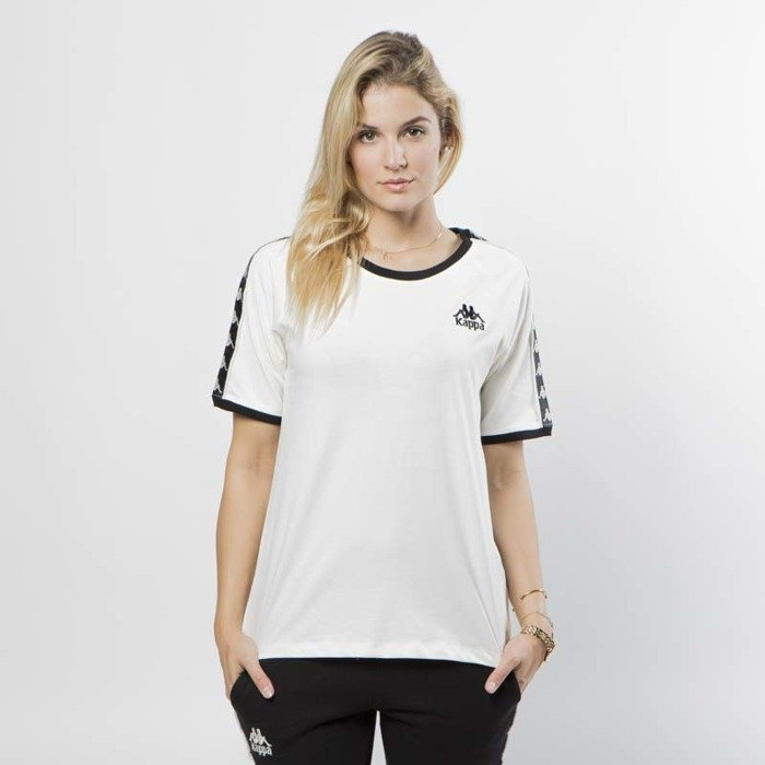 kody kuponów najlepiej autentyczne Stany Zjednoczone Koszulka damska Kappa Daria T-shirt vanilla