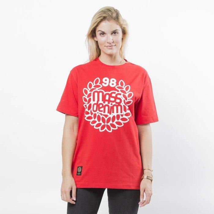 Koszulka damska Mass Denim Base T shirt WMNS red