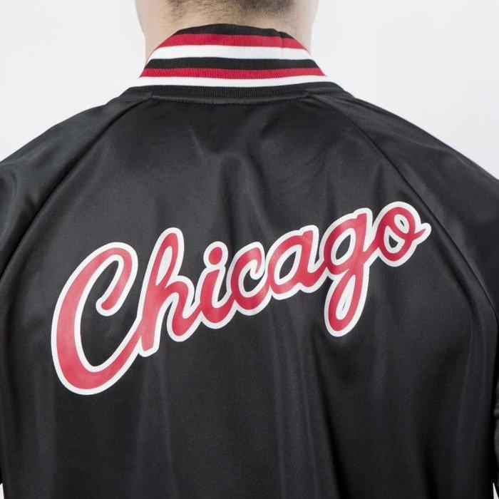 Kurtka Mitchell & Ness Chicago Bulls black NBA Top Prospect Jacket