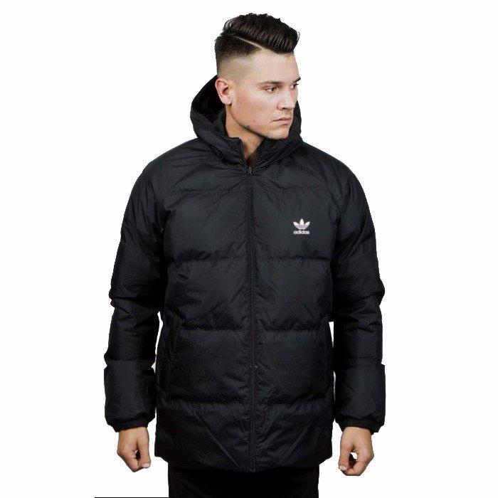 super promocje dobra obsługa najlepszy wybór Kurtka Zimowa Adidas Originals SST Down Hood black