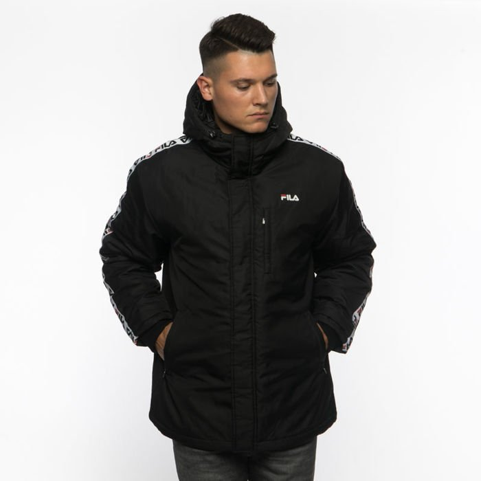 Kurtka zimowa Fila Orlando Padded Jacket black