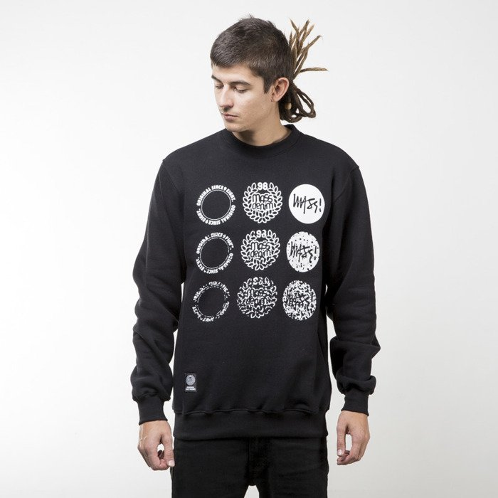 5c3d46078 Mass Denim bluza sweatshirt Mind crewneck black | Bludshop.com