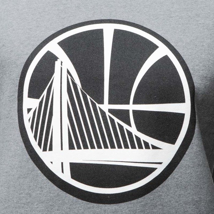 Mitchell & Ness bluza crewneck Golden State Warriors grey BLACK and WHITE LOGO Kup online na ...
