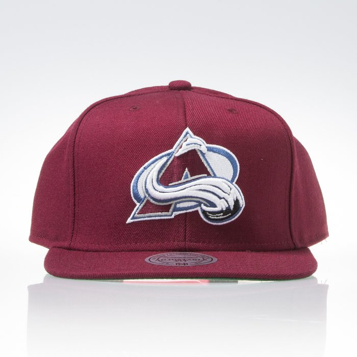 ... Mitchell   Ness czapka snapback Colorado Avalanche burgundy WOOL SOLID  NT81Z ... dc34dd5ea3f