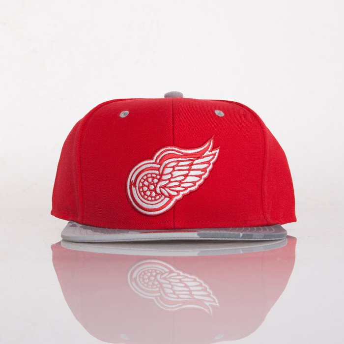 ebb2e2b76ae ... Mitchell   Ness czapka snapback Detroit Red Wings red Paint Brush EU149  ...
