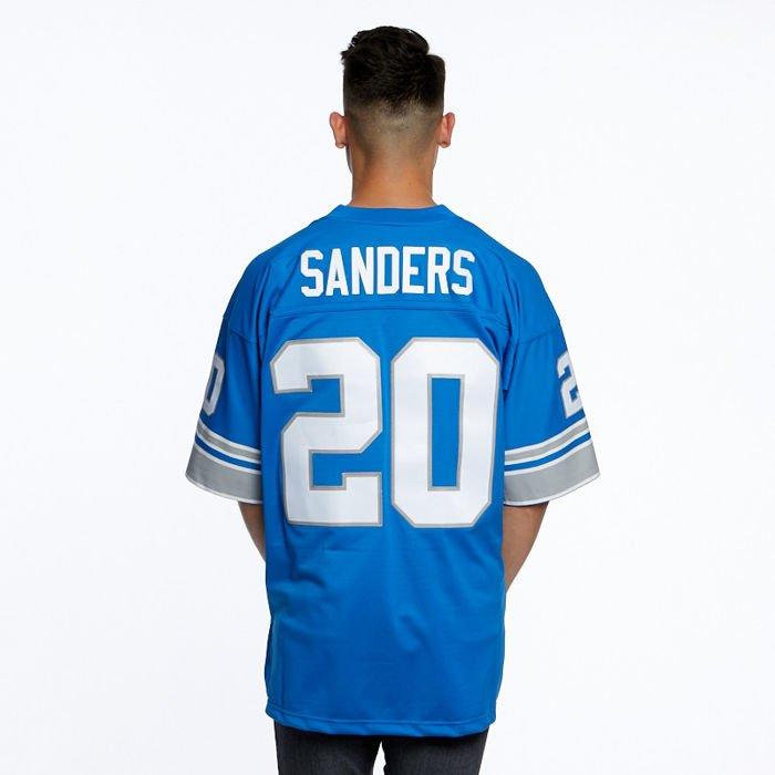 najlepiej kochany kupić o rozsądnej cenie Mitchell & Ness koszulka jersey Detroit Lions #20 Barry Sanders royal NFL  Legacy Jersey
