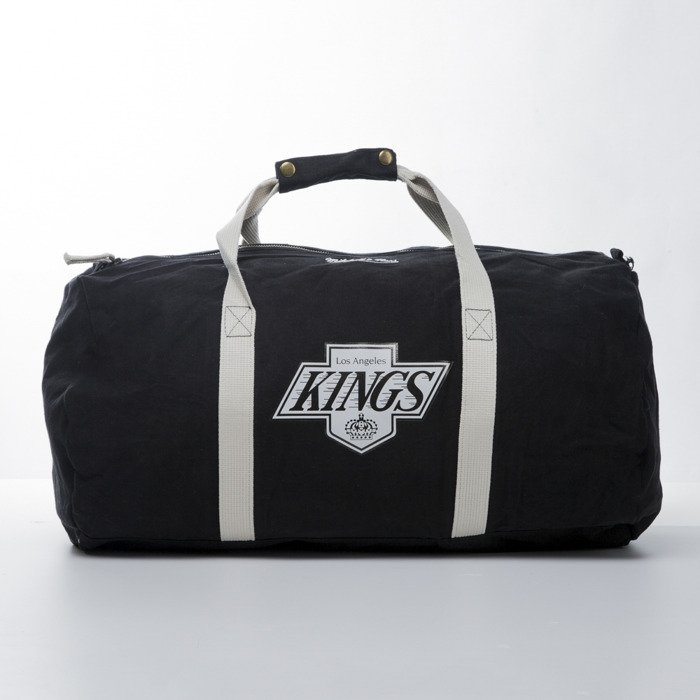 0c5a6e6eb963 Mitchell   Ness torba Los Angeles Kings Duffle Bag black TEAM LOGO ...