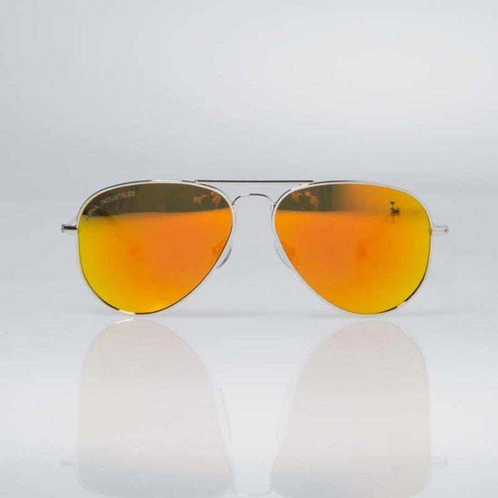 Alpha Industries TOP GUN Okulary przeciwsłoneczne silver