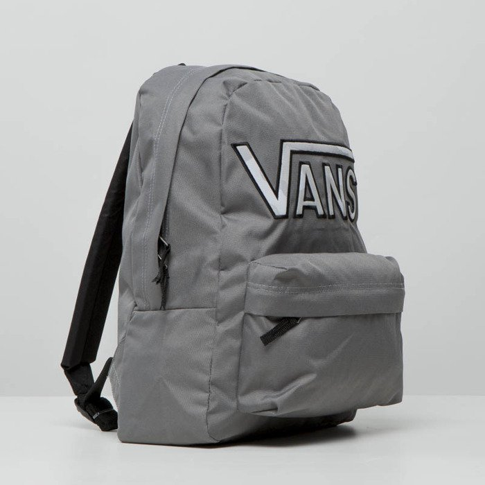 a15b818bd2828 Plecak Vans Realm Flying V Backpack pewter grey VA34GH056 | Bludshop.com