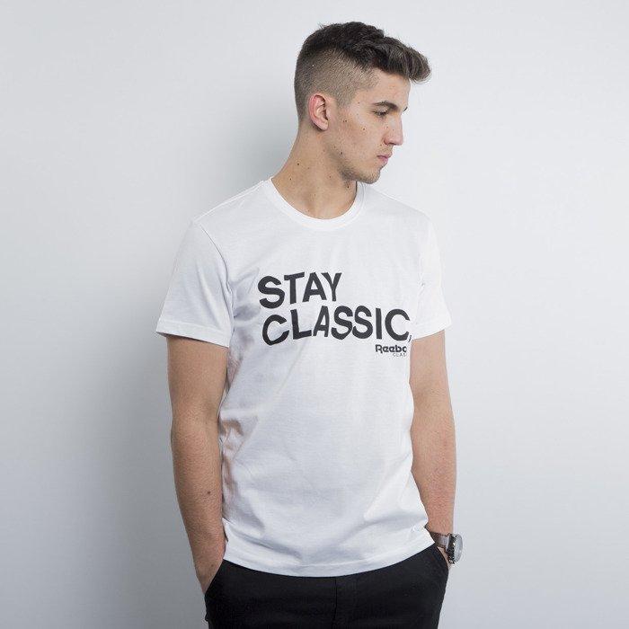 4b7cae75f4abfb Reebok koszulka t-shirt F Stay Classic white A00263 | Bludshop.com