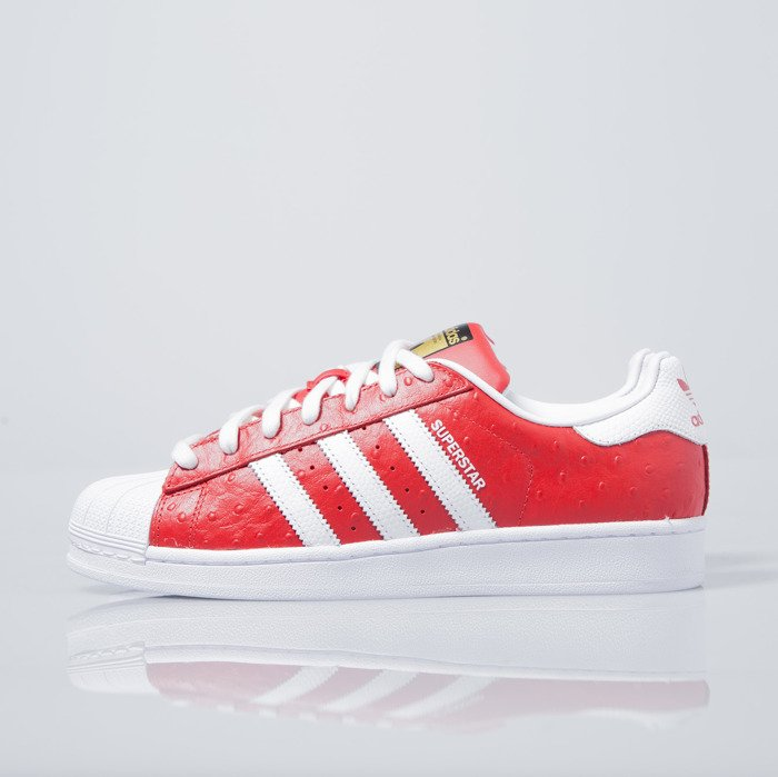 Sneakers Buty Adidas Originals Superstar Animal red white (S75158)