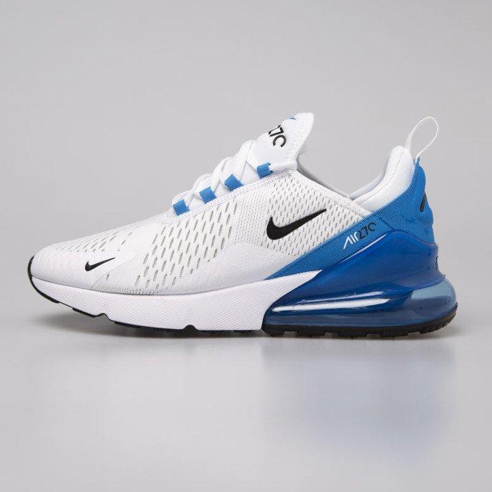 Buty Nike Air Max 270 WhiteBlackPhoto Blue (AH8050 110) Ceny i opinie Ceneo.pl