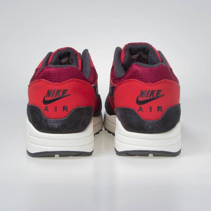 heiß Sneakers Buty Nike Air Max 1 red crushmidnight navy