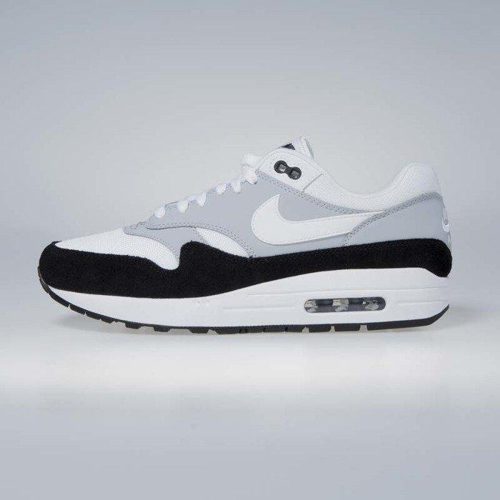 443d5e52046 ... Sneakers Buty Nike Air Max 1 wolf grey   white - black AH8145-003 ...