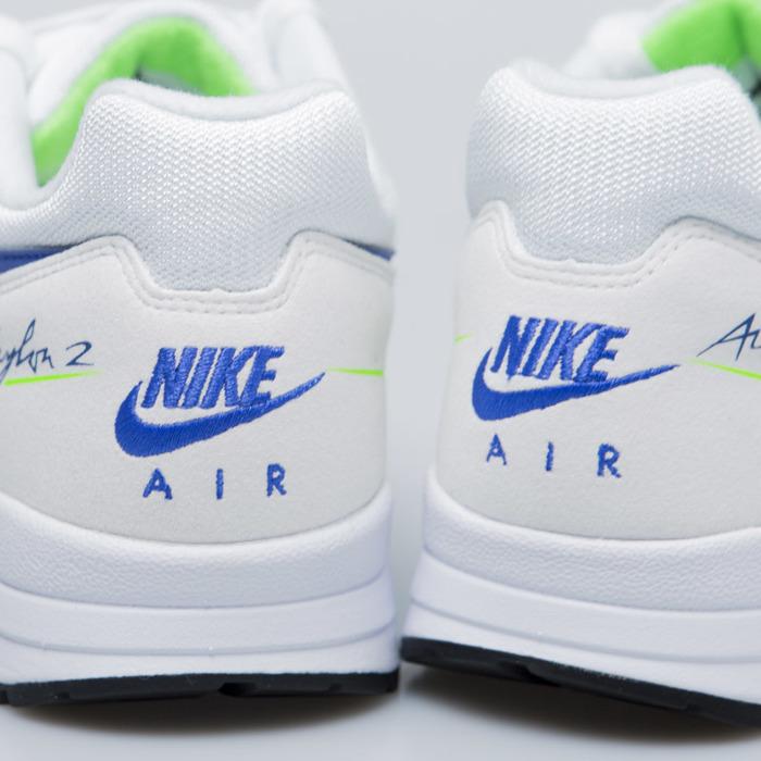 online store 28fb3 bf5ba Sneakers Buty Nike Air Skylon II white   hyper royal-green strike (AO1551-  ...