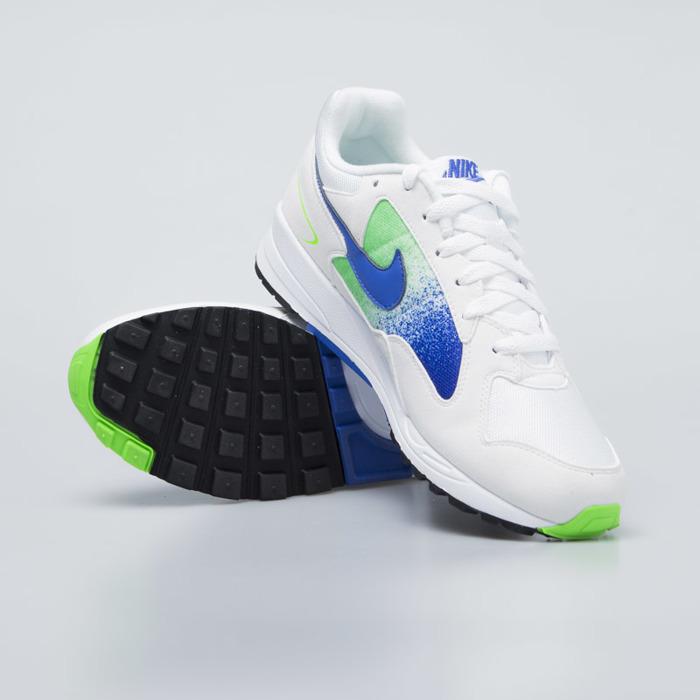timeless design 7cfa9 c5d45 ... Sneakers Buty Nike Air Skylon II white   hyper royal-green strike  (AO1551- ...