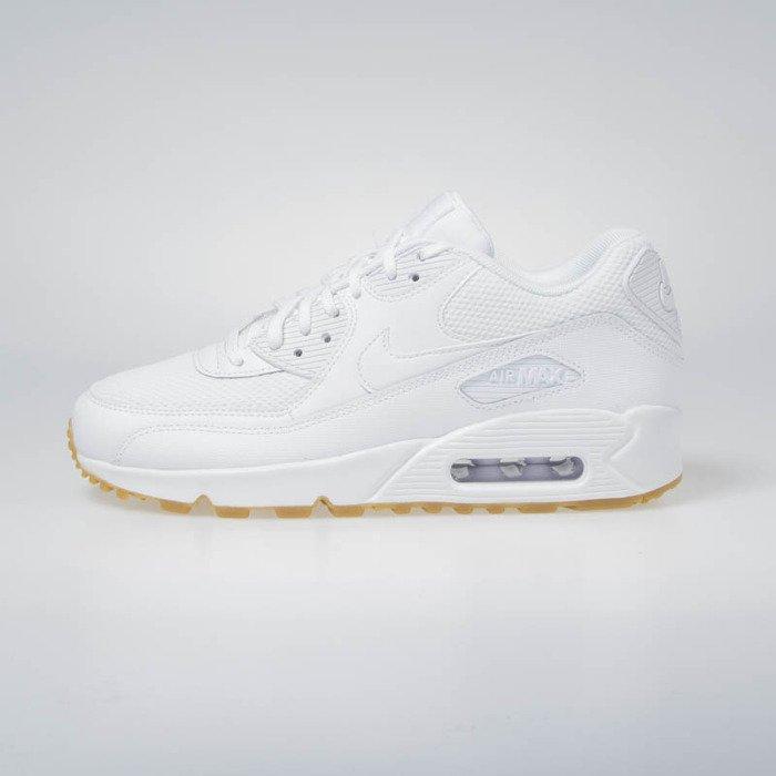 nowy produkt Cena hurtowa konkurencyjna cena Sneakers Buty Nike WMNS Air Max 90 white/white-gum light brown (325213-135)