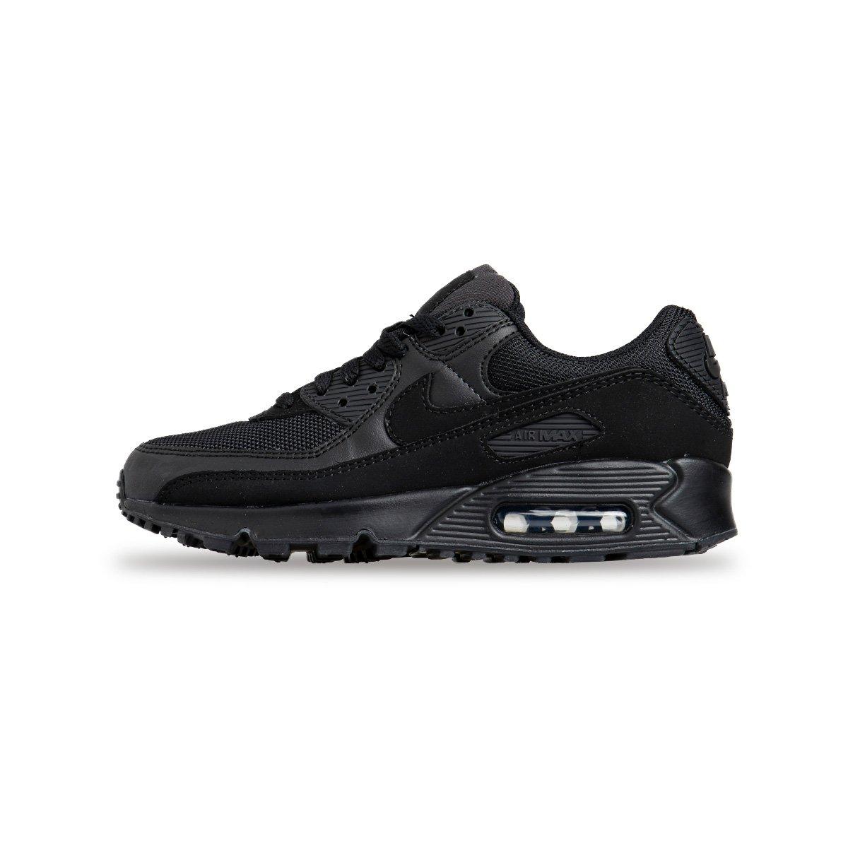 Sneakers Buty damskie Nike Air Max 90 czarne (CQ2560 002)