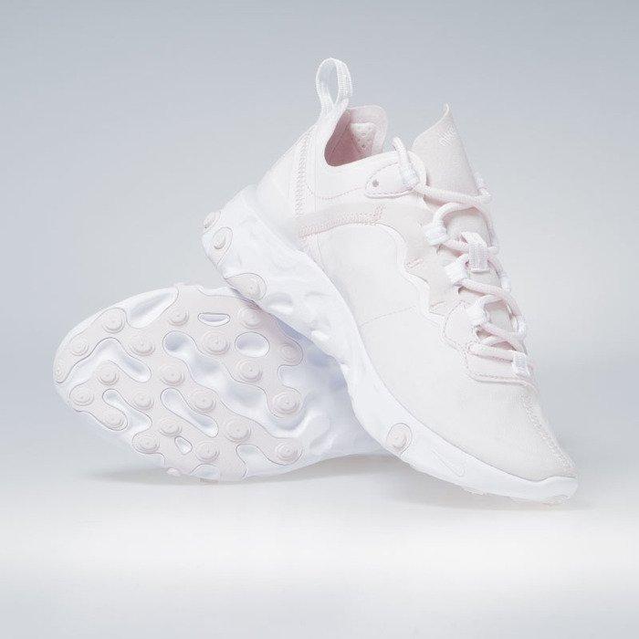 Sneakers Buty damskie Nike React Element 55 pale pink white white (BQ2728 600)