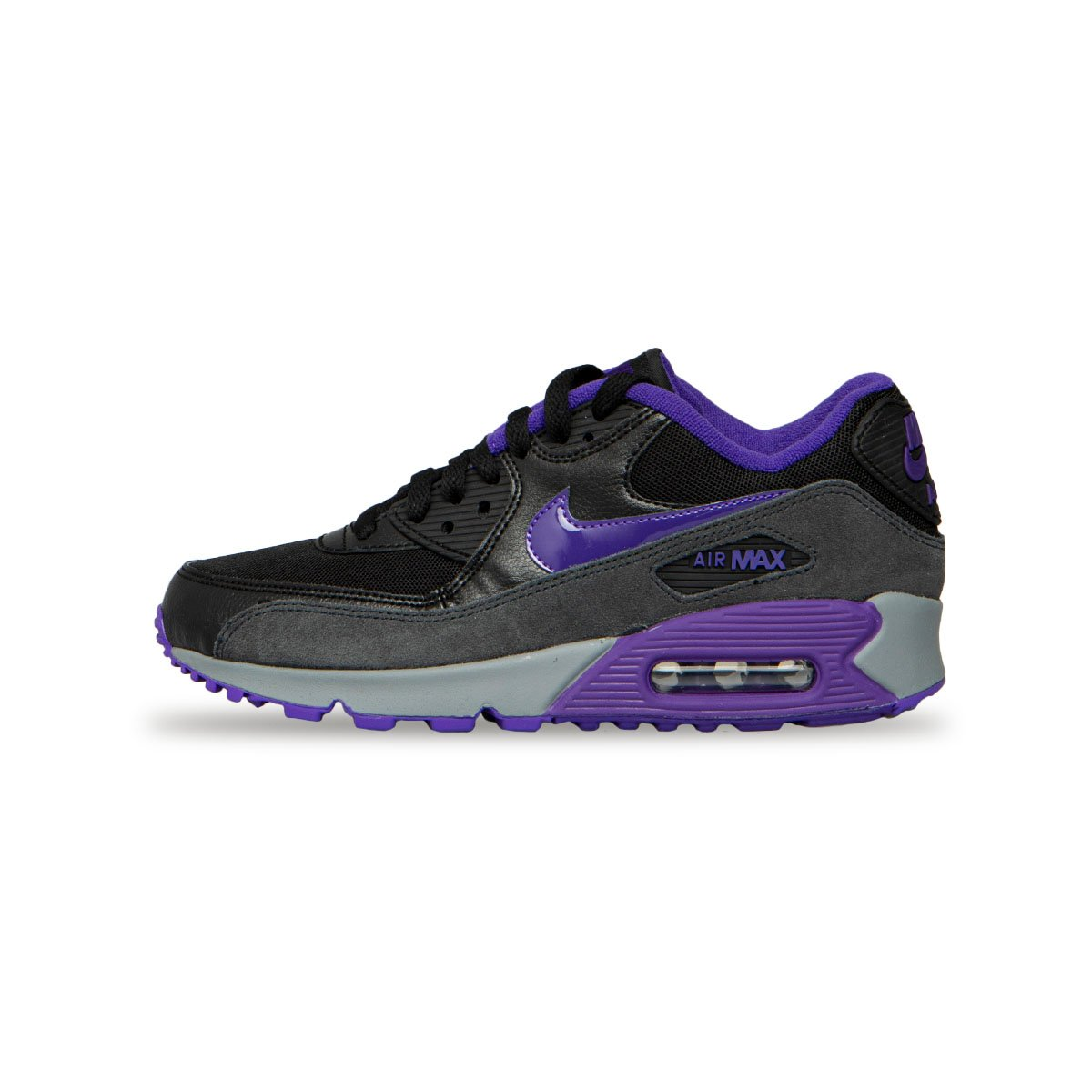 best service 2e10a da54d ... Sneakers Buty damskie Nike WMNS Air Max 90 white black-reflect silver  (325213 ...