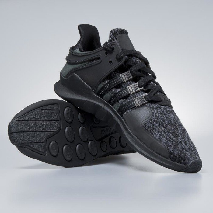 Sneakers buty Adidas Originals EQT Support ADV core black core black ... 597229d81