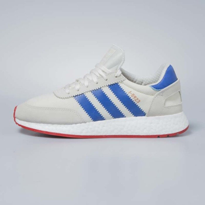 Sneakers buty Adidas Originals I 5923 off white blue core red BB2093