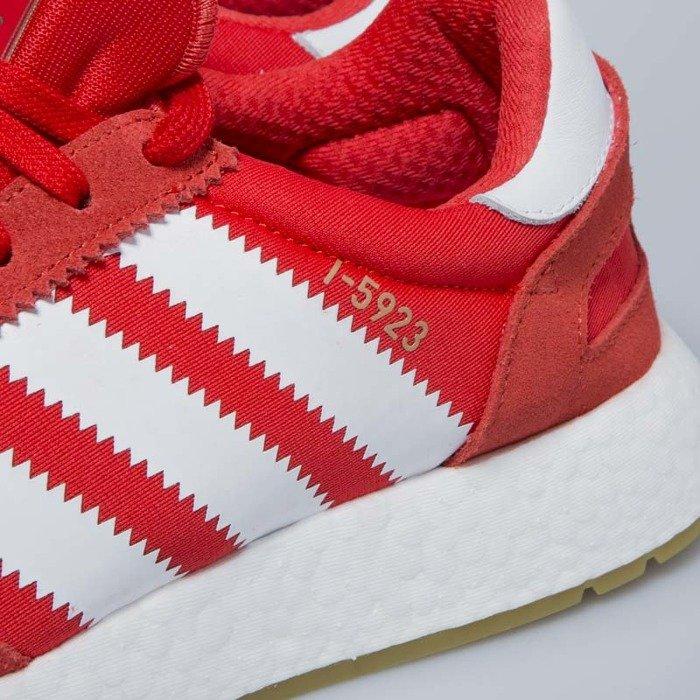 Sneakers buty Adidas Originals Iniki Runners red footwear white gum BB2091