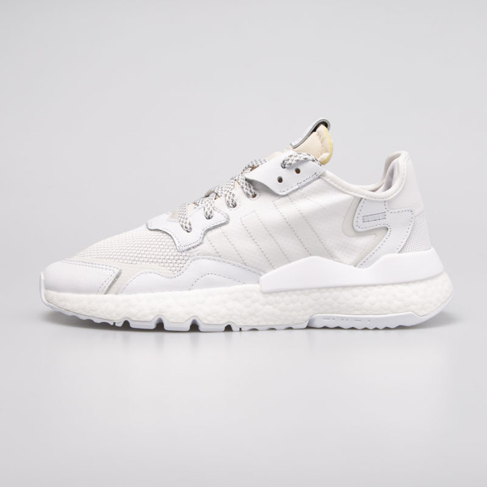 Sneakers buty Adidas Originals Nite Jogger ftwr white crystal white grey one (BD7676)