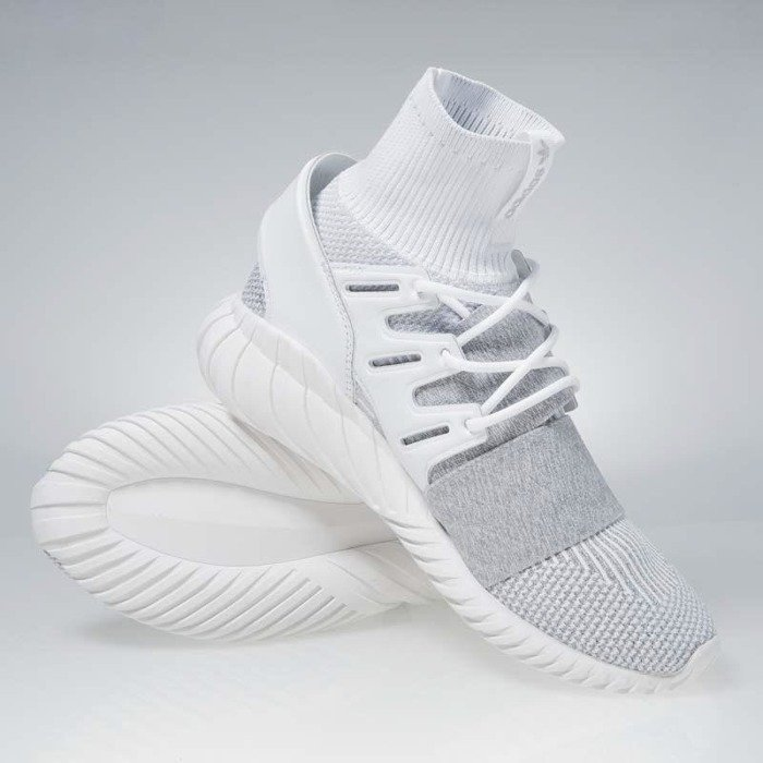 Sneakers buty Adidas Originals Tubular Doom footwear white footwear white clear BY3553